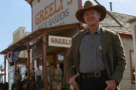 Spotlight On: Gene Hackman as Little Bill Daggett in 'Unforgiven' – That  Moment In